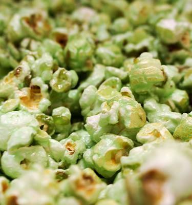 Pistachio Flavor Popcorn