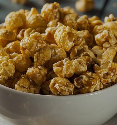 Caramel Flavored Popcorn