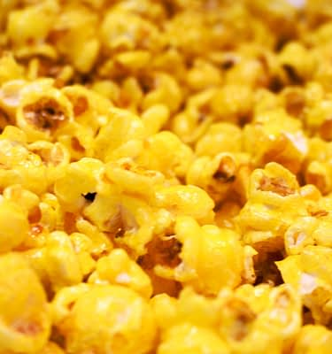 Pineapple Flavor Popcorn