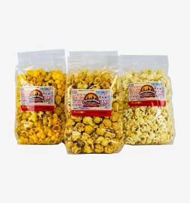 4 cup bags of Chicagoland popcorn